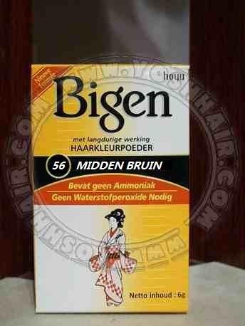 Bigen Midden Bruin