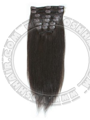 COMPLETE CLIP IN SYSTEEM #2 45CM OF 55CM LANG