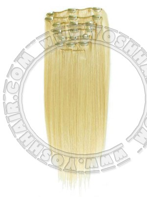 COMPLETE CLIP IN SYSTEEM #24 45CM OF 55CM LANG