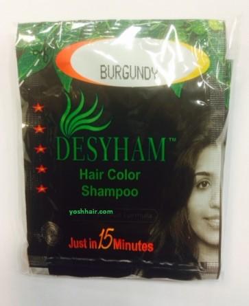 Desyham Hair color shampoo burgundy