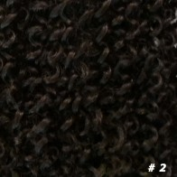 Jerry Curl 14 inch #2 zwart bruin