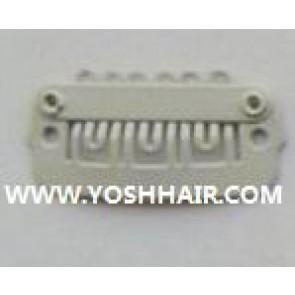 XL ORDER 100 PCS 2,3cm witte clips