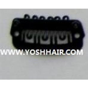 XL ORDER 100 PCS 2,3cm zwarte clips