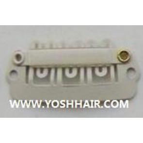 2.8 cm witte clips