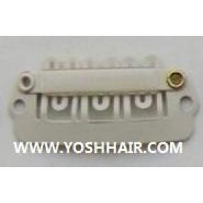 XL ORDER 100 PCS 2.8 cm witte clips