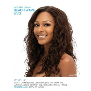 Natural Indian Beach Wave 10 inch