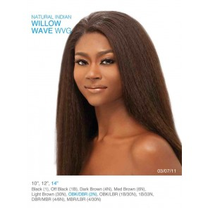Natural Indian Willow Wave 14 inch