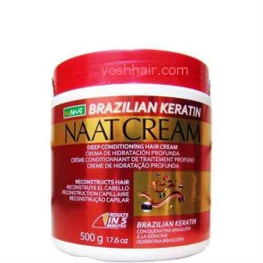 Nu Naat Hair Cream Brazilian Keratin