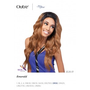 Outre Front Lace Wig Emerald