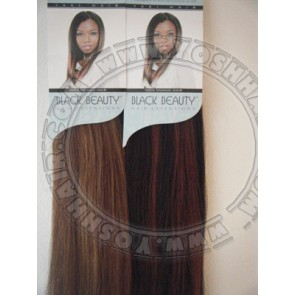 Black Beauty Yaki weave