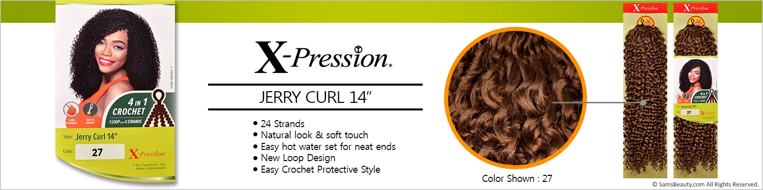Jerry curl X-pression